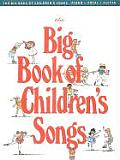 The Big Book of Children's Songs (Big Books of Music) Cover