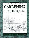 Step-By-Step Gardening Techniques Illustrated Cover