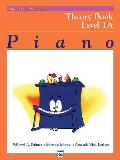 Alfred's Basic Piano Library, Theory 1A