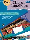 Easy Classical Piano Duets, Vol. 2