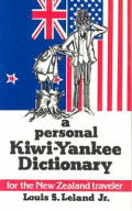 Personal Kiwi Yankee Dictionary For The New Ze