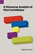 A Discourse Analysis of First Corinthians