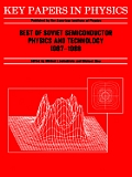 Best of Soviet Semiconductor Physics and Technology: (1987 - 1988)