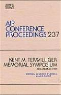 Kent M. Terwilliger Memorial Symposium