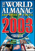 The World Almanac and Book of Facts 2003 Cover