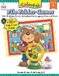 Colorful File Folder Games Grade Kindergarten: Skill-Building Center Activities for Language Arts and Math (Colorful Game Books)
