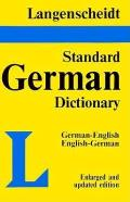 Langenscheidt's Standard German Dictionary: English-German, German-English Cover