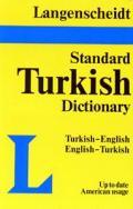 Langenscheidt Turkish Standard Dictionary