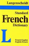 Langenscheidt French Standard Dictionary Plain