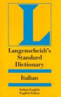 Langenscheidts Standard Italian Dictionary