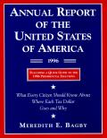 Annual Report Of The Us Of America 199