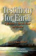 Testimony for Earth