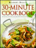Readers Digest 30 Minute Cookbook 300 Qu
