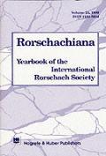 Rorschachiana Vol. 23: Yearbook of the International Rorschach Society