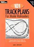 101 Track Plans for Model Railroaders (Model Railroader) Cover