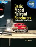 Basic Model Railroad Benchwork The Complete Photo Guide