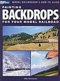 Painting Backdrops for Your Model Railroad Cover