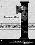 Studies in World History, Vol. 1: Creation Through the Age of Discovery (4004 BC to AD 1500)