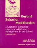 Beyond Behavior Modification A Cognitive