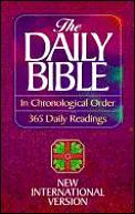Bible NIV Daily Chronological 365 Readings