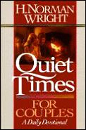 Quiet times for couples :a daily devotional Cover