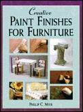Creative paint finishes for furniture