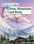 Watercolor Basics Trees Mountains & Rocks