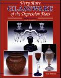 Very Rare Glassware Of The Depression Ye