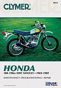 Honda 100-350cc Ohc Singles, 1969-1982: Service, Repair, Performance