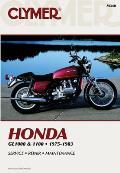 Honda Gl1000 & 1100 Fours 1975 1983 Service Repair Maintenance
