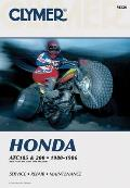 Honda Atc185 and 200, 1980-1986: Service, Repair, Maintenance (Clymer All-Terrain Vehicles)