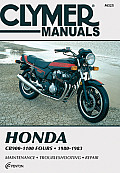 Honda Cb900-1100 Fours, 1980-1983: Service, Repair, Maintenance