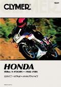 Honda 500cc V-Fours, 1984-1986: Service, Repair, Maintenance