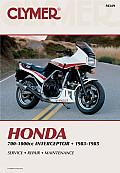 Honda 700-1000 CC Interceptor, 1983-1985 (Clymer Motorcycle Repair Series)