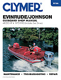 Evinrude Johnson Outboard Shop Manual 48 235 HP 1973 1990