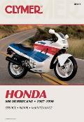 Honda 600 Hurricane, 1987-1990: Service, Repair, Maintenance