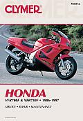Honda VFR700F & VFR750F 1986 1997 Service Repair Maintenance