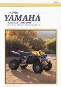 Yamaha Yfz350 Banshee 1987 1999