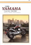 Yamaha Xvs650 V-Star, 1998-2000: Service, Repair, Maintenance