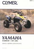 Clymer Yamaha Warrior, 1987-2002
