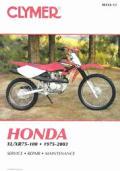 Clymer Honda XL/Xr75-100, 1975-2003