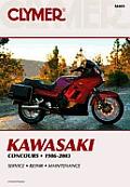 Kawasaki Fours: Concours, 1986-2004