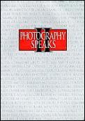 Photography Speaks 2
