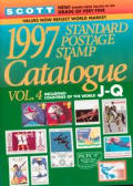Scott 1997 Standard Postage Stamp Catalogue
