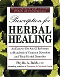 Prescription for Herbal Healing: The Most Comph Z Ref 100s Common Disorders Their Herbal Reme Cover