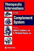 Therapeutic Interventions in the Complement System