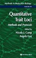 Quantitative Trait Loci: Methods and Protocols