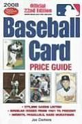 2008 Baseball Card Price Guide (Baseball Card Price Guide)