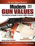 Gun Digest Book of Modern Gun Values The Shooters Guide to Guns 1900 Present