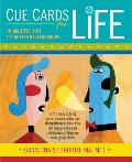Cue Cards for Life: Thoughtful Tips for Better Relationships Cover